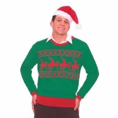 Foute foute kersttrui rendier