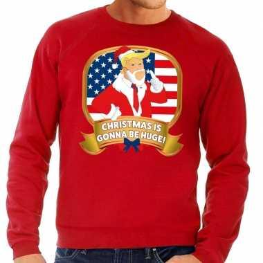 Foute foute kersttrui rood christmas is gonne be huge voor heren