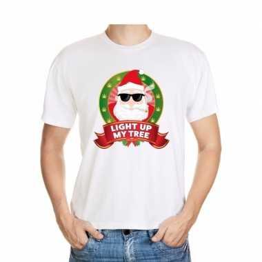 Foute kerst t shirt stoned kerstman voor heren
