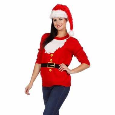 Kersttrui Dames Rendier.Foute Kersttrui Kerstman Voor Dames Fout Eu