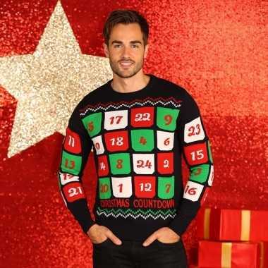 Heren foute kersttrui adventskalender 3d